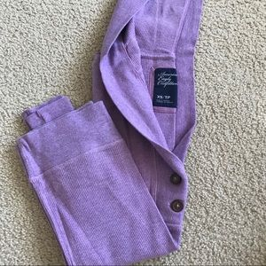 aeo hooded thermal top
